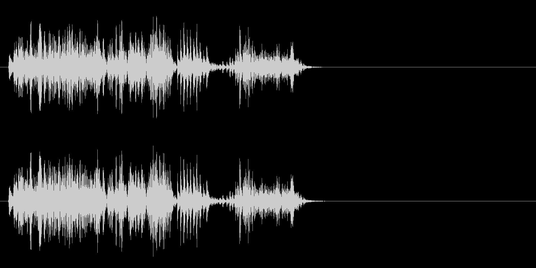 [生録音]ゲップ音03(ロング)の未再生の波形