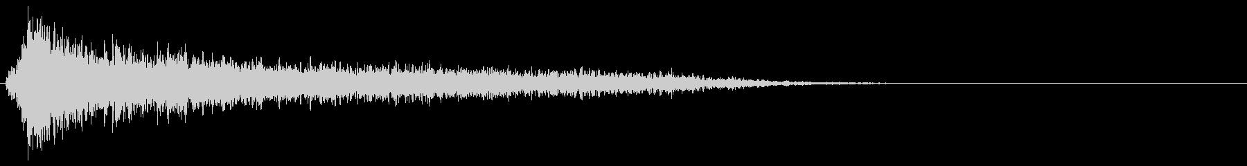サスペンスピアノ音_1-3の未再生の波形