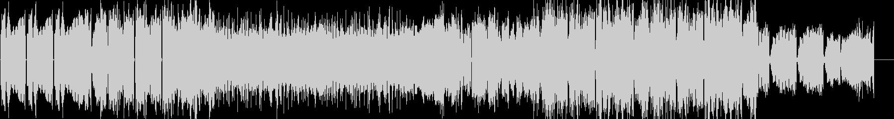 不穏感・浮遊感のあるチルアウトBGMの未再生の波形