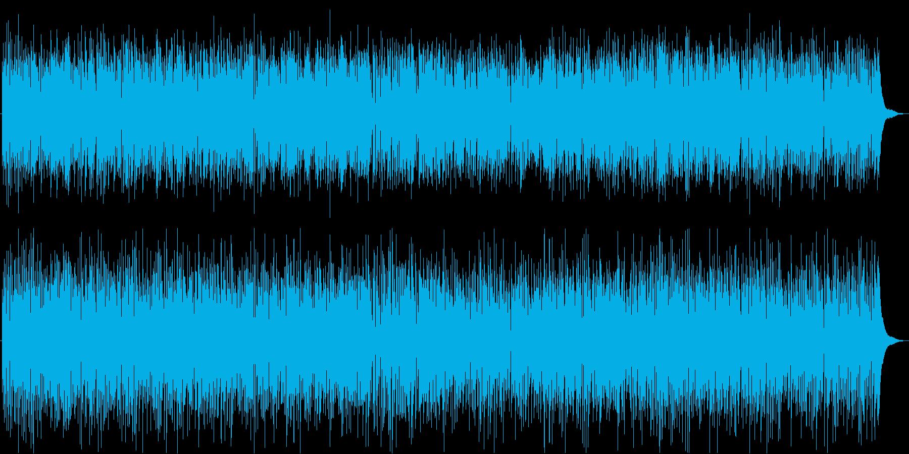 生演奏Saxジャズボサノバおしゃれカフェの再生済みの波形