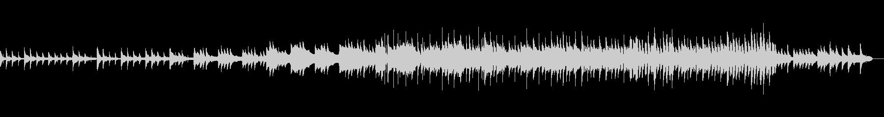 夜の紅葉狩りをイメージピアノメインBGMの未再生の波形