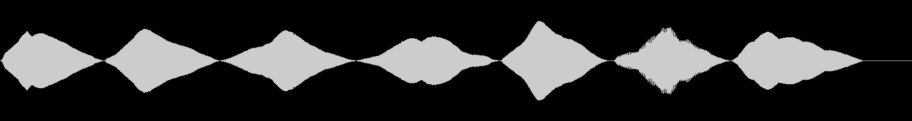 ランブル、バズの未再生の波形