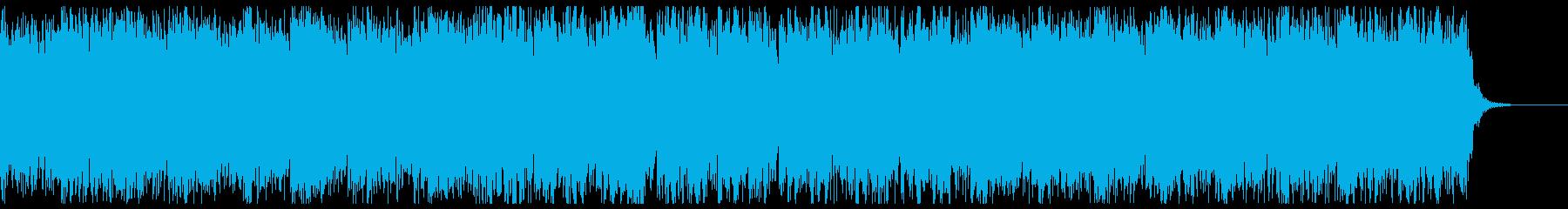 鬼気迫る激しいスクラップホラーの再生済みの波形