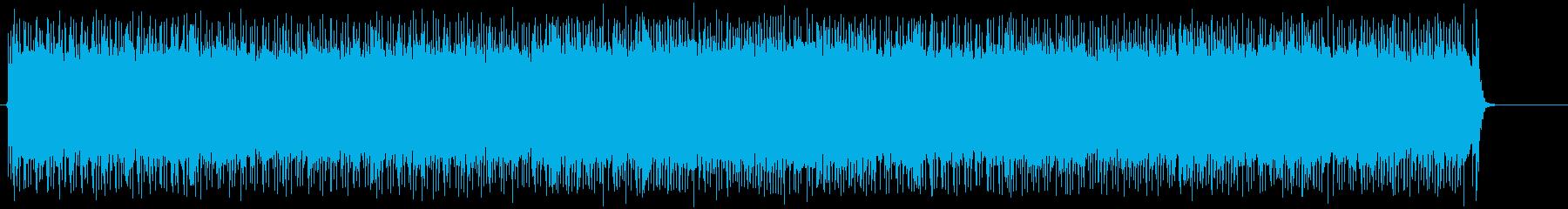 ファッショナブルで元気なポップ・ロックの再生済みの波形