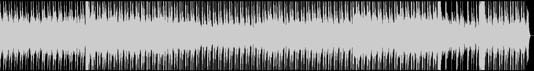 ラスボス感のあるBGMの未再生の波形