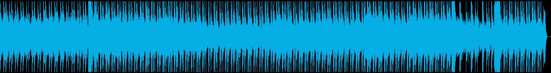 ラスボス感のあるBGMの再生済みの波形