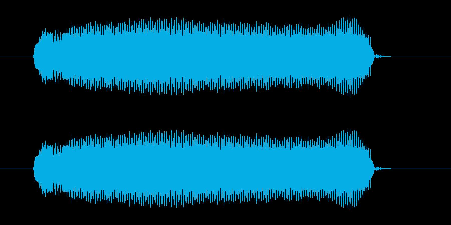 ピーッ!◆ホイッスル/競技、交通整理の笛の再生済みの波形