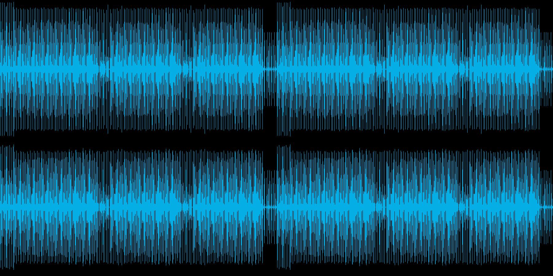 YouTube・コミカルハッピー・楽しいの再生済みの波形
