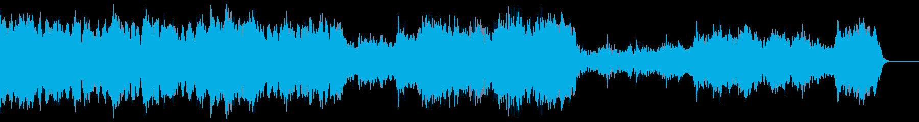文字列アンサンブルは、堂々とした高...の再生済みの波形