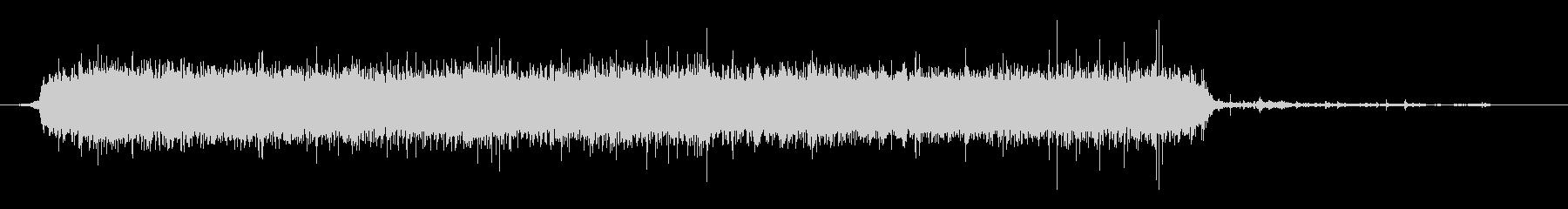 水 タップフローウルトラハードロング03の未再生の波形
