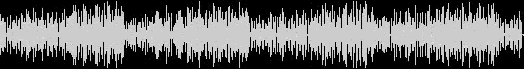 マリンバのコミカルでかわいいBGMの未再生の波形