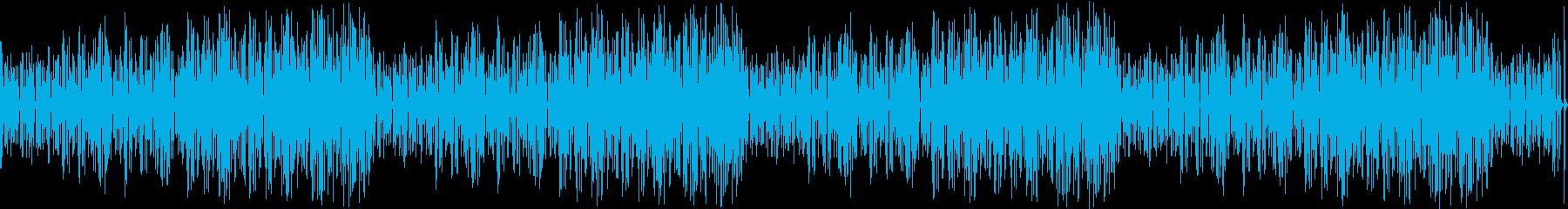 マリンバのコミカルでかわいいBGMの再生済みの波形
