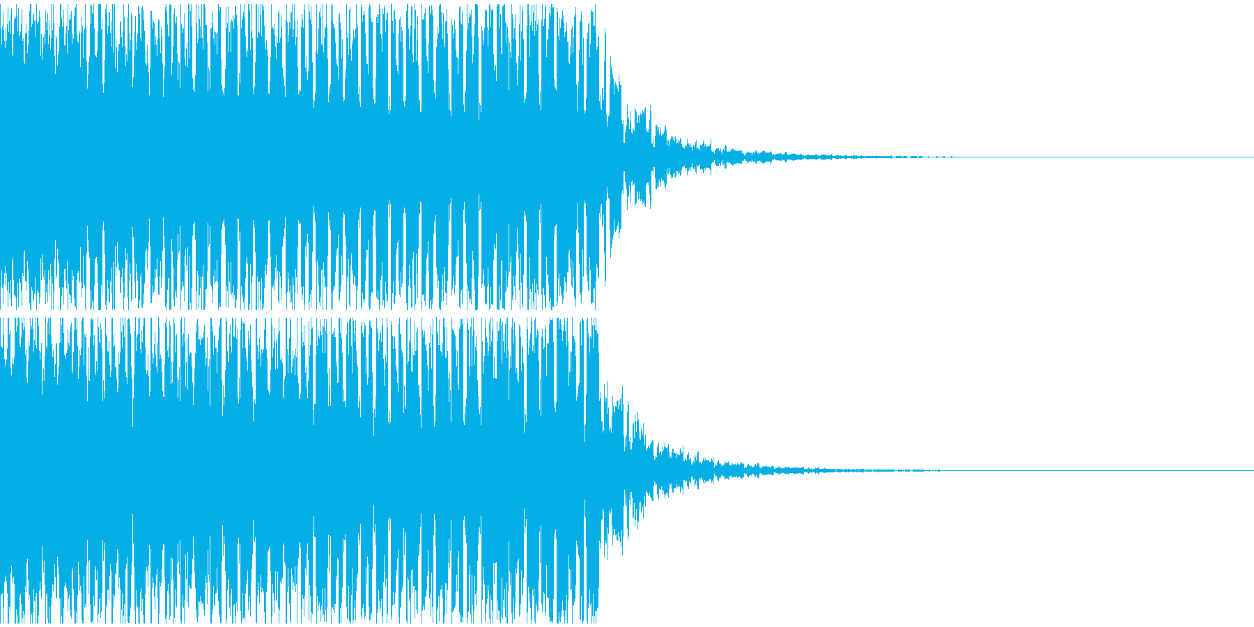【EDM】クラブダンスミュージック7の再生済みの波形