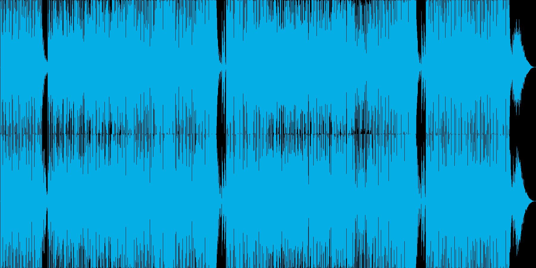 ちょっとお洒落なダンサブル童謡の再生済みの波形