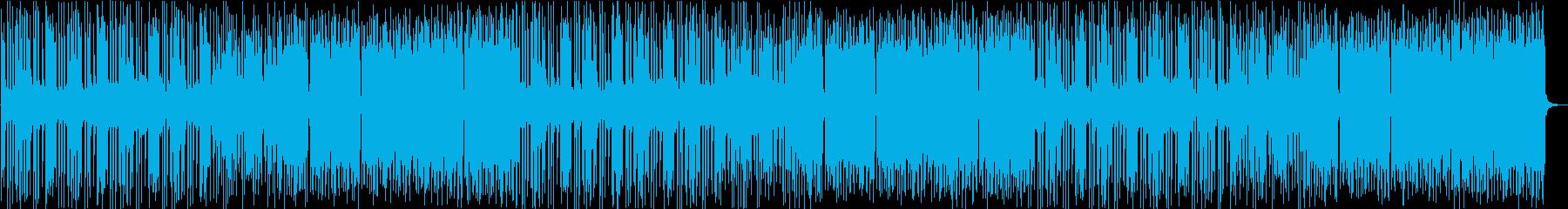 ポップで元気がよく明るいBGMの再生済みの波形