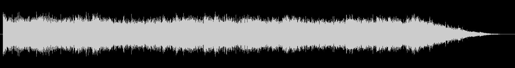 緊張 壊れたピアノのカオス05の未再生の波形