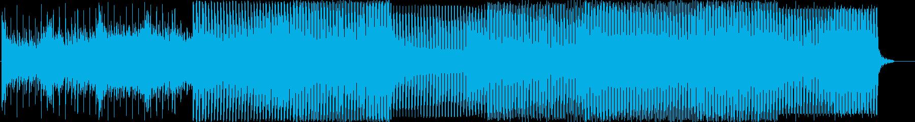 メロディック、燃えるような、エネルギーの再生済みの波形