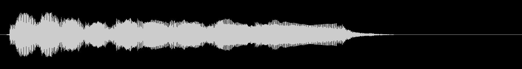 エレキギター4弦チューニング1リバーブの未再生の波形