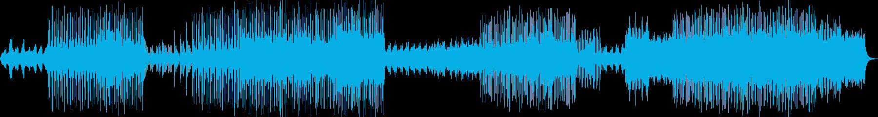 電気楽器。チルアウトレイトナイトバ...の再生済みの波形