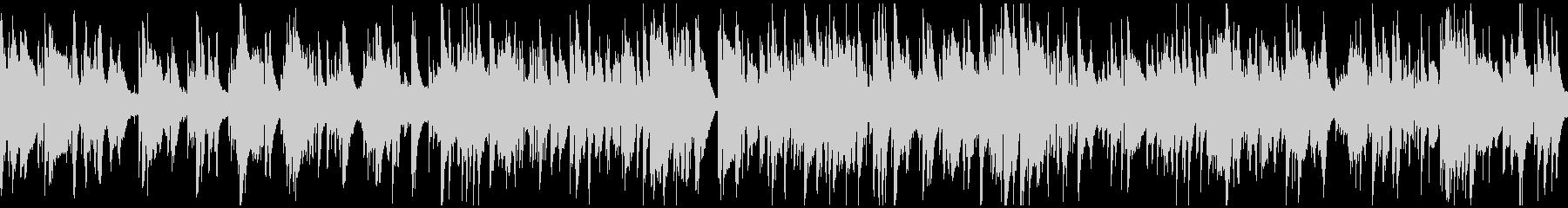テクニカルな夜の達人系バラード※ループ版の未再生の波形