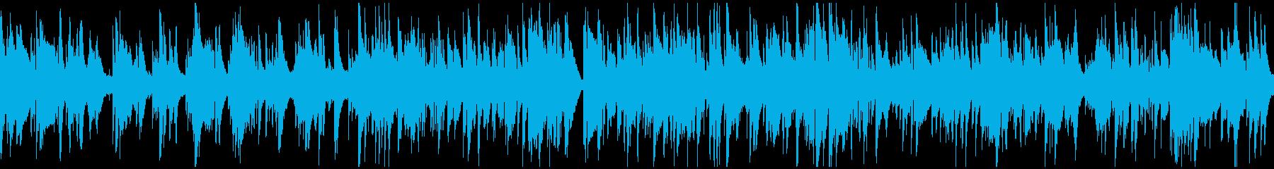 テクニカルな夜の達人系バラード※ループ版の再生済みの波形