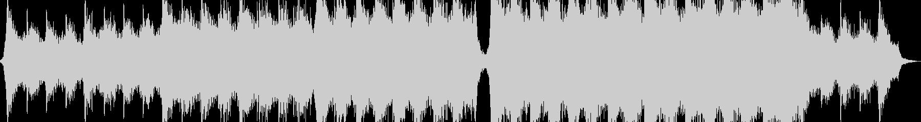 パワフルヒロイックエピックシネマティックの未再生の波形