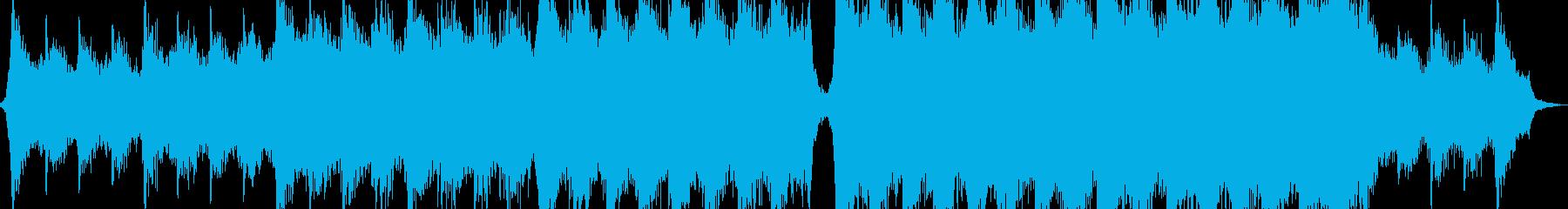 パワフルヒロイックエピックシネマティックの再生済みの波形