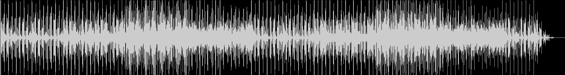 シンプルなデモ画面チップチューンの未再生の波形
