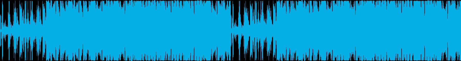 【個性的おしゃれなラウンジ/JAZZ】の再生済みの波形