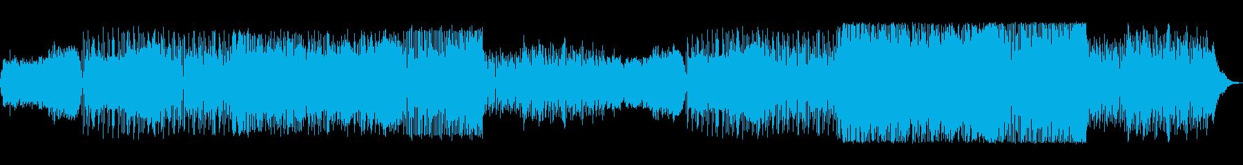 エレクトロニック サスペンス アク...の再生済みの波形