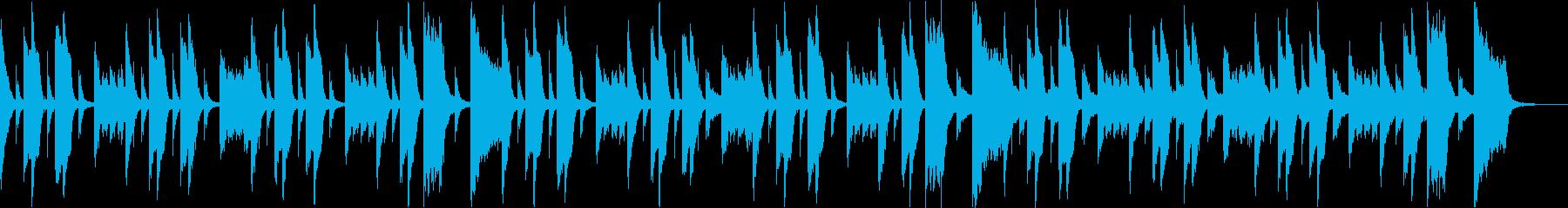 コミカルいたずらかわいい楽しいCM cの再生済みの波形
