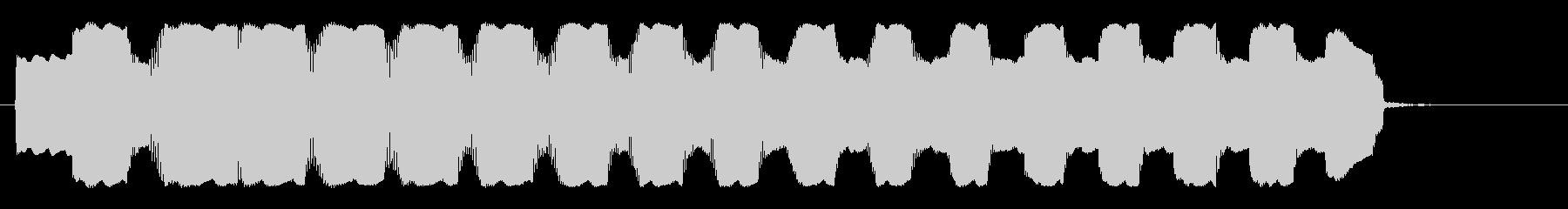 ピヨーンピロピロピロ(近未来の機械音)の未再生の波形