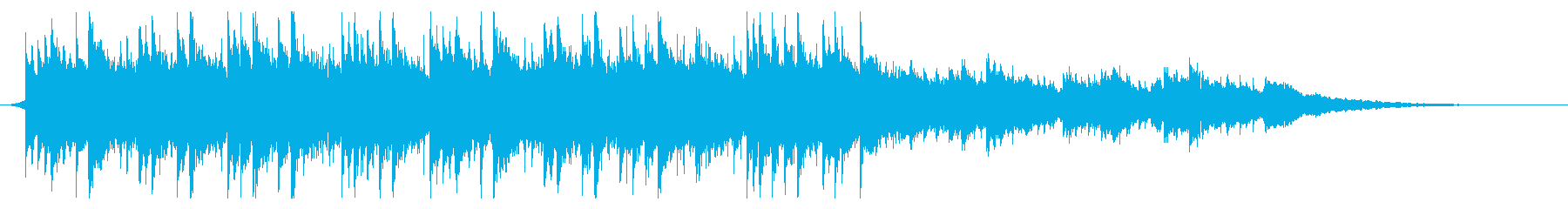 <30秒CM>誠実 感動 エンディングの再生済みの波形