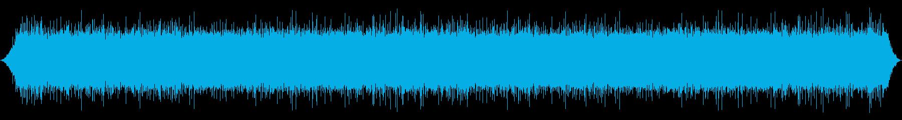 川:中流量、ストリームとしても使用の再生済みの波形