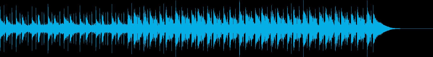 Pf「刻」和風現代ジャズの再生済みの波形