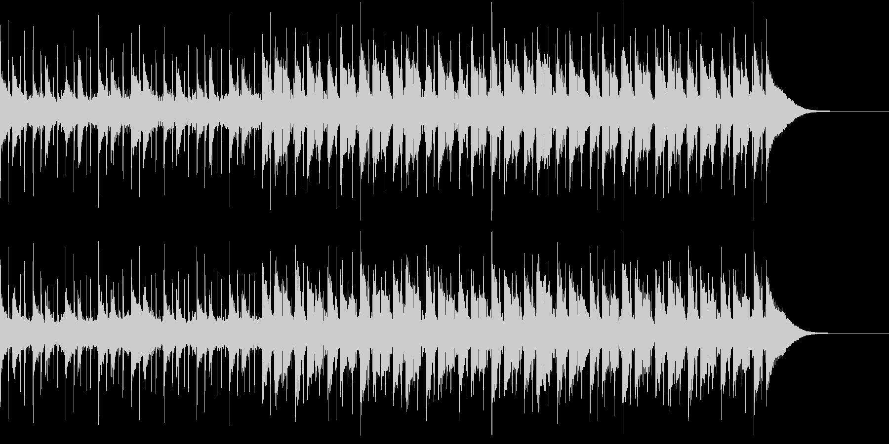 Pf「刻」和風現代ジャズの未再生の波形