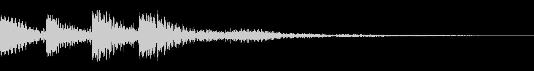 ジュワーン(クリック_選択開始_02)の未再生の波形