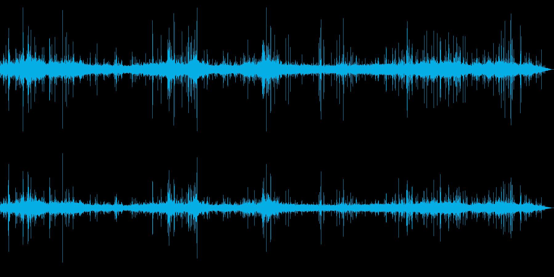 [生録音]台風通過時の室内音02の再生済みの波形
