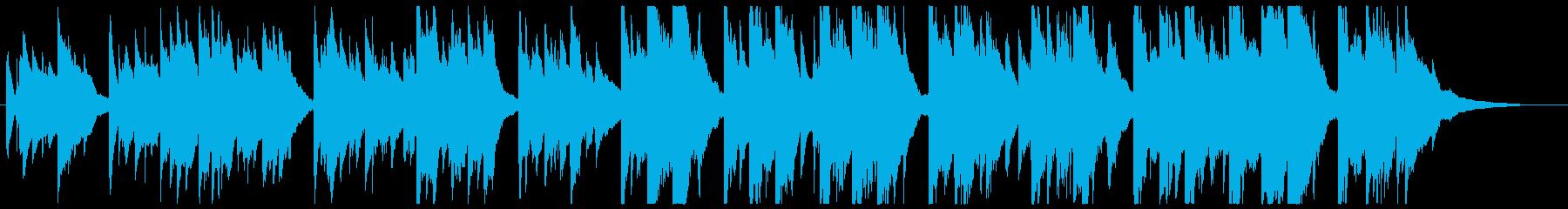 切なく力強いアコースティックギターソロの再生済みの波形
