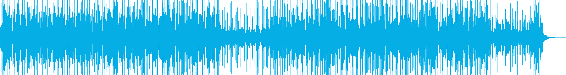 まったりした雰囲気のポップス Aの再生済みの波形