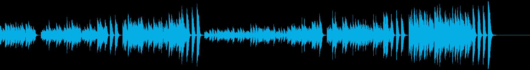 3分クッキングの原曲(ピアノソロ)の再生済みの波形