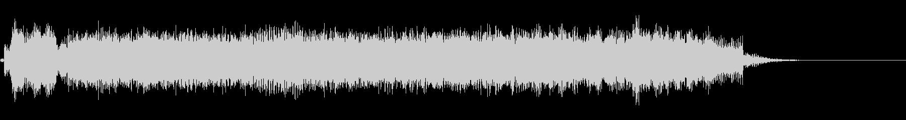 ヘビーギターによる場面転換音の未再生の波形