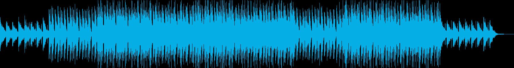 トランペットを使ったネオソウル風ポップの再生済みの波形
