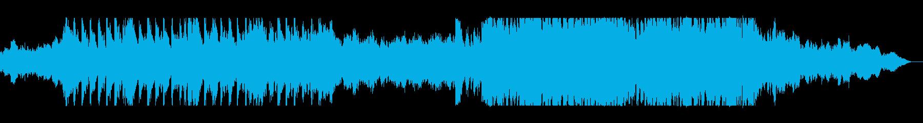 和楽器とオーケストラの雄大なサウンドの再生済みの波形
