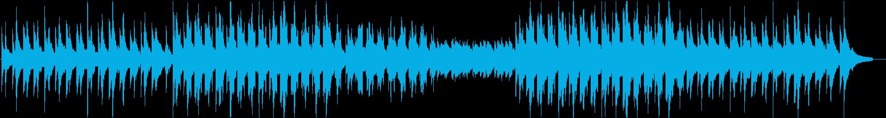 しっとりしたピアノのChill・Lofiの再生済みの波形