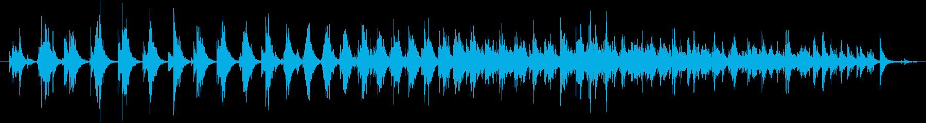 小学校の小学生:教室:拍手、拍手、...の再生済みの波形
