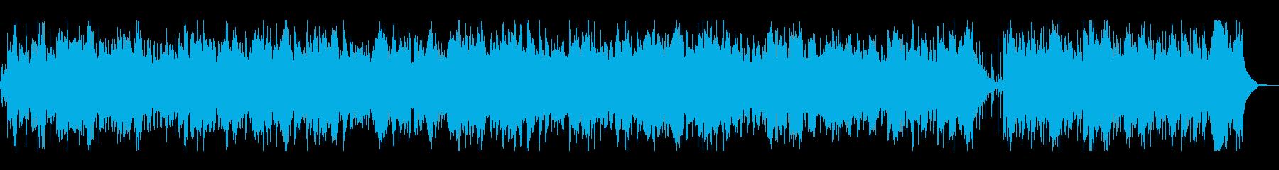 カントリー調POPのバイオリン曲の再生済みの波形