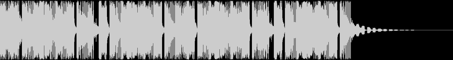 【アンビエント】ロング2、ショート6の未再生の波形
