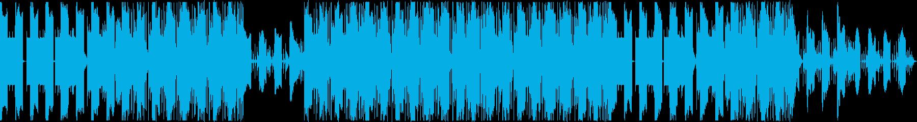 神秘的 リラックス チルトラップの再生済みの波形