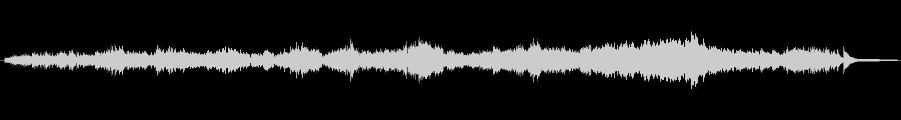 有名な バッハのピアノ曲の未再生の波形